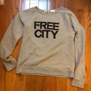 Free city sweatshirt